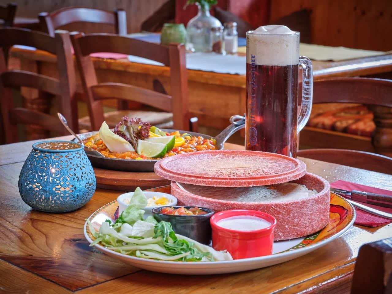 Fajitas - El Puente – Mexikanisches Restaurant Oberammergau