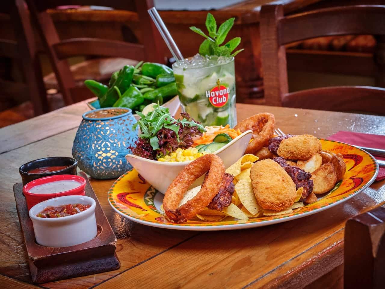 Plato Grande - Entradas - Vorspeise - El Puente – Mexikanisches Restaurant Oberammergau