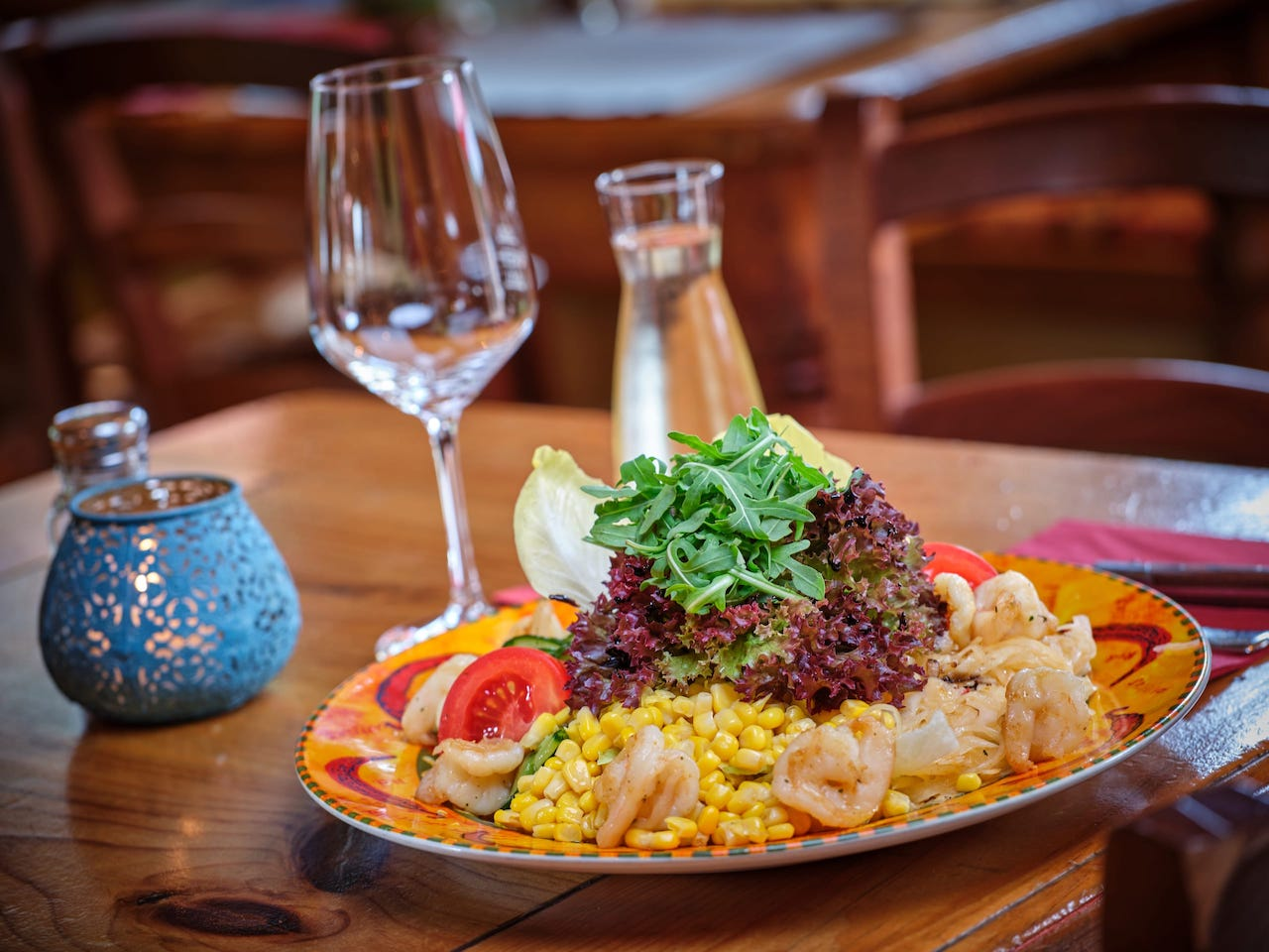 Salate - Ensaladas - El Puente – Mexikanisches Restaurant Oberammergau