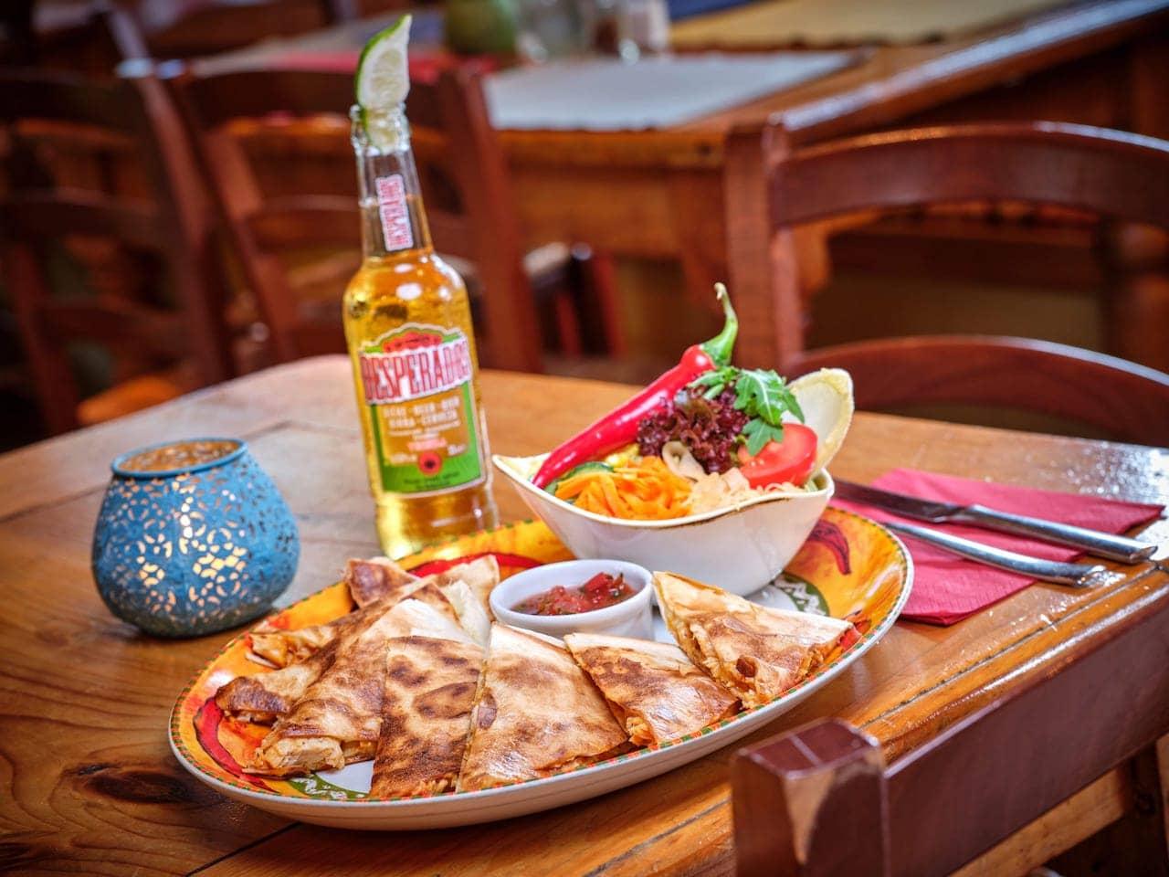 vegetarische Gerichte - Vegetariano - El Puente – Mexikanisches Restaurant Oberammergau