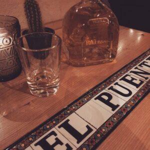 Schnapskarte El Puente - Schnaps - Tequila - Spirituosen